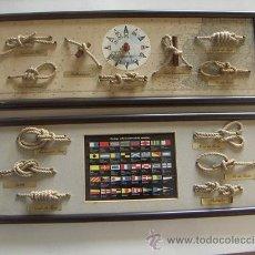 Antigüedades: PAREJA DE MARCOS CON NUDOS. Lote 27546987