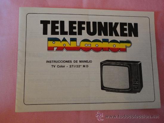 Telefunken palcolor manual
