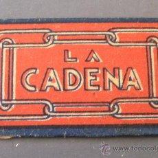 Oggetti Antichi: HOJA DE AFEITAR LA CADENA. Lote 24732481
