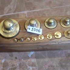 Antigüedades: ANTIGUA TABLA DE PESAS. Lote 26784641