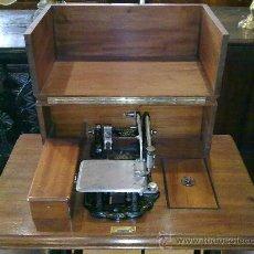 Antigüedades: MAQUINA DE COSER WHEELER & WILSON. Lote 25088206