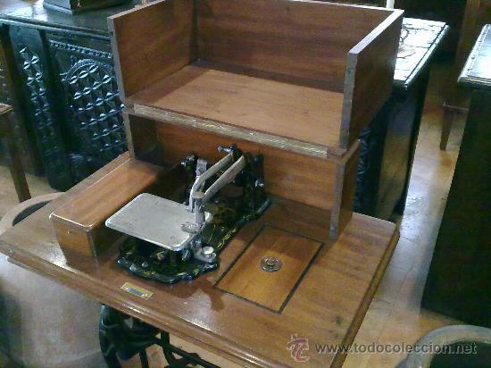 Antigüedades: MAQUINA DE COSER WHEELER & WILSON - Foto 2 - 25088206