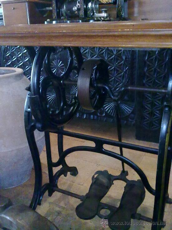 Antigüedades: MAQUINA DE COSER WHEELER & WILSON - Foto 3 - 25088206
