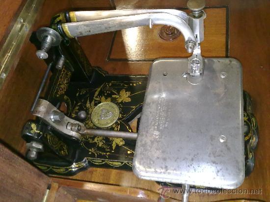 Antigüedades: MAQUINA DE COSER WHEELER & WILSON - Foto 4 - 25088206
