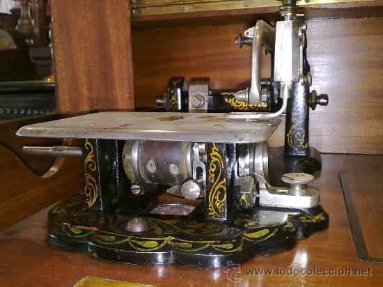Antigüedades: MAQUINA DE COSER WHEELER & WILSON - Foto 5 - 25088206
