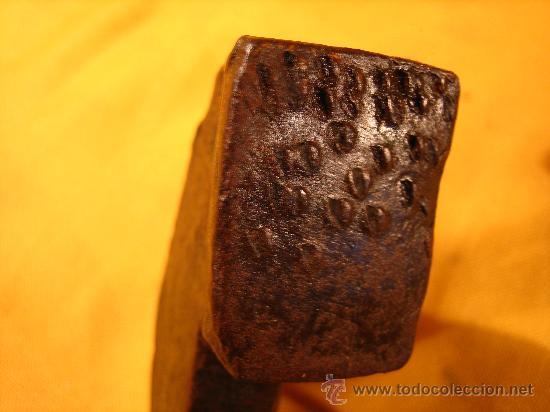 Antigüedades: MORDAZA . SARGENTO . GATO . PRENSA . FORJA SIGLO XIX GRANDE . 5 KILOS DE PESO - Foto 8 - 25183359