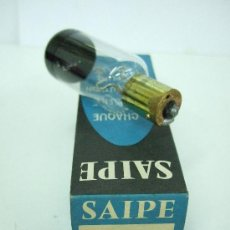 Antigüedades: SAIPE - LAMPARA PARA PROYECTOR - B15-B - 50W-12V - MADE IN FRANCE. Lote 26694458