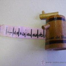Antigüedades: MINI METRO ENROLLABLE - RECUERDO DE SANLUCAR DE BERRAMEDA. Lote 25432388