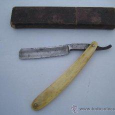 Antigüedades: NAVAJA DE AFEITAR MARCADA F. HERDER & SN Y JOSEP ROCA - BARCELONA-. Lote 25431170