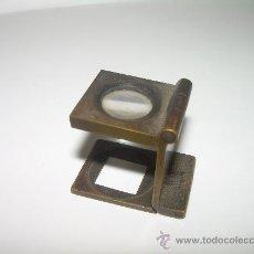 Antigüedades: ANTIGUO CUENTA HILOS DE BRONCE. Lote 25484031