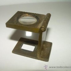 Antigüedades: ANTIGUO CUENTA HILOS DE BRONCE. Lote 26945180