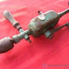 Antigüedades: ANTIGUO TALADRO MULTIPLICADOR MANUAL.. Lote 27013461