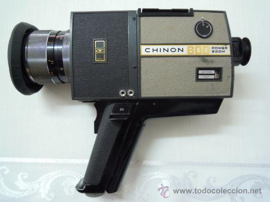 Antigüedades: FILMADORA CHINON 600 SUPER 8 + ESTUCHE Y COMPLEMENTOS - Foto 10 - 25571970