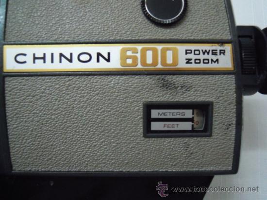 Antigüedades: FILMADORA CHINON 600 SUPER 8 + ESTUCHE Y COMPLEMENTOS - Foto 9 - 25571970