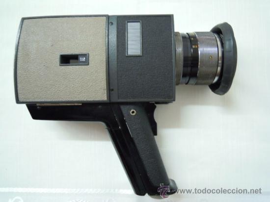 Antigüedades: FILMADORA CHINON 600 SUPER 8 + ESTUCHE Y COMPLEMENTOS - Foto 8 - 25571970
