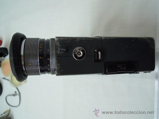 Antigüedades: FILMADORA CHINON 600 SUPER 8 + ESTUCHE Y COMPLEMENTOS - Foto 7 - 25571970