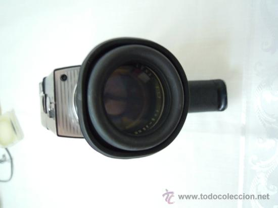 Antigüedades: FILMADORA CHINON 600 SUPER 8 + ESTUCHE Y COMPLEMENTOS - Foto 6 - 25571970