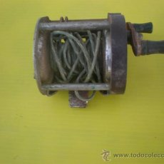 Antigüedades: CARRETE DE PESCA ANTIGUO. Lote 25615023