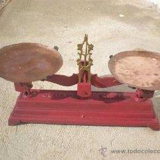 Antigüedades: BALANZA DE 5 KILOS. Lote 25957082