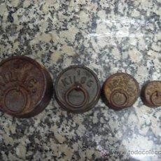 Oggetti Antichi: JUEGO DE PESAS . Lote 26034183