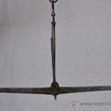 Antigüedades: BALANZA DE FIEL Y GANCHO.. Lote 27424699