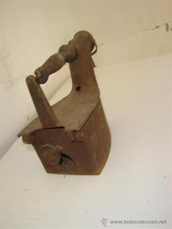 Antigüedades: plancha de carbon antigua - Foto 2 - 26054961