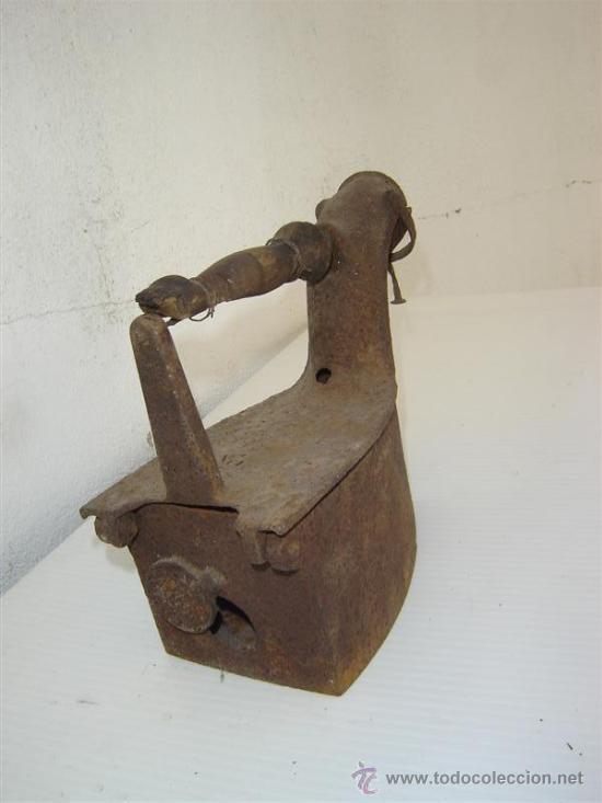 Antigüedades: plancha de carbon antigua - Foto 3 - 26054961