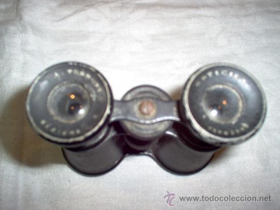 Antigüedades: prismaticos antiguos - Foto 2 - 26221620