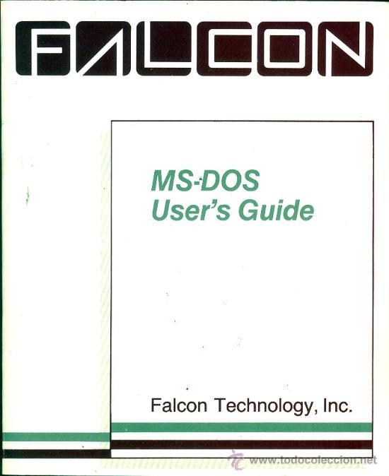 FALCON MS DOS VERSION 3.1 USER`S GUIDE 1986, INCLUYE LIBRO DE 302 PGINAS (EN INGLES) Y SU CAJA (Antigüedades - Técnicas - Varios)