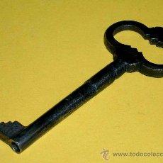 Antigüedades: ANTIGUA LLAVE DE HIERRO, MIDE 7,3 CMS.. Lote 26300116