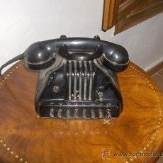 Teléfonos: TELEFONO ANTIGUO BAQUELITA DE COLECCION PARA USO INTERNO DE OFICINA CON CENTRALITA. Lote 26624465