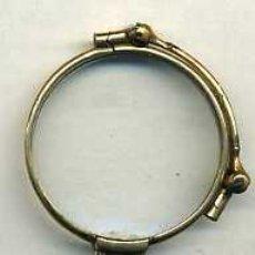 Antigüedades: IMPERTINENTE PLEGABLE EN METAL Y ESMALTES. Lote 26728275