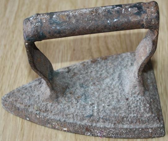Antigüedades: plancha antigua - Foto 2 - 26747495