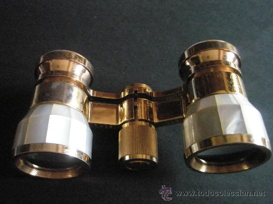 Antigüedades: RC-ANTIGUOS PRISMÁTICOS-NACAR+BRONCE-MARCA CARTON-(7) - Foto 6 - 26869028