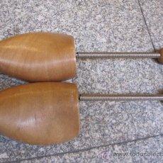 Antigüedades: PAREJA HORMAS FLEXIBLES EN MADERA DE HAYA , PERFECTAS - NUMERO 39. Lote 26973135