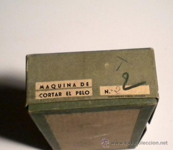 Antigüedades: Antigua Caja vacía de maquinilla de cortar pelo - Foto 2 - 27009192