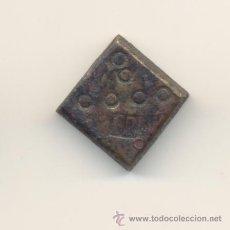 Antigüedades: 1- BONITO PONDERAL PESA MALLORCA MARCA FR FERNANDO VII ?? PESO: 13'3 GRAMOS.. Lote 27046502