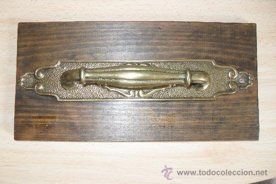 TIRADOR DE PUERTA. (Antigüedades - Técnicas - Cerrajería y Forja - Tiradores Antiguos)