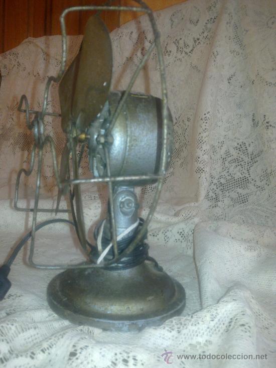 Antigüedades: VENTILADOR AÑOS 30 - Foto 2 - 27190199