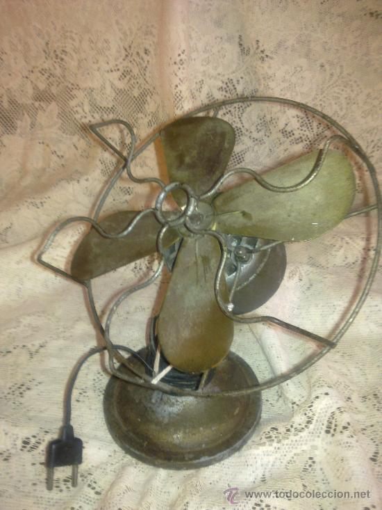 Antigüedades: VENTILADOR AÑOS 30 - Foto 3 - 27190199