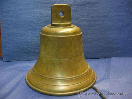 Antigua gran campana de barco de bronce comprar - Antiguedades de barcos ...