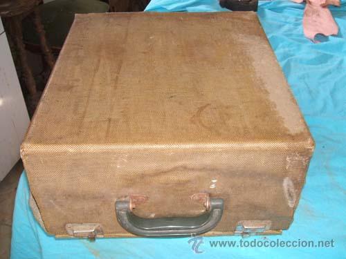 Antigüedades: Maquina de escribir Hermes 2000 en su caja. - Foto 2 - 27373142