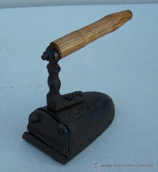 Antigüedades: plancha carbon de hierro ,,, plan365 - Foto 2 - 42641771