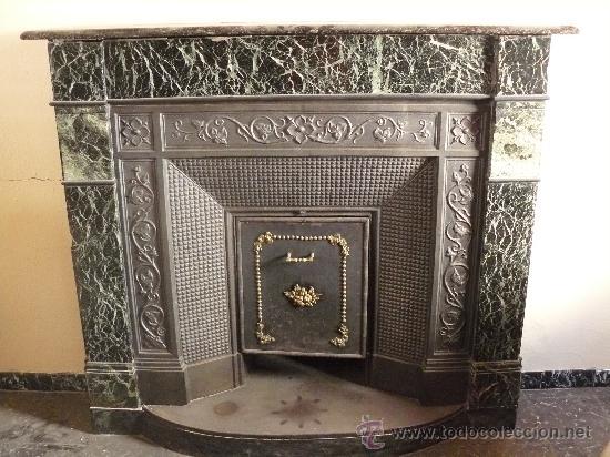 Frontal de hierro fundido para chimenea comprar varias - Puerta chimenea segunda mano ...