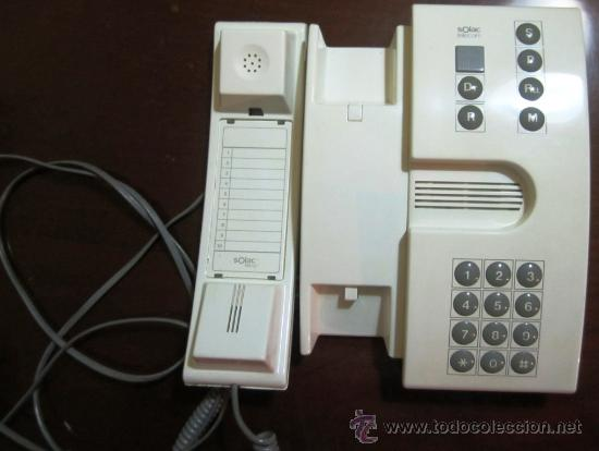 Teléfonos: TELÉFONO MURAL O SOBREMESA SOLAC TELECOM - MODELO P2020 - Foto 4 - 27459022