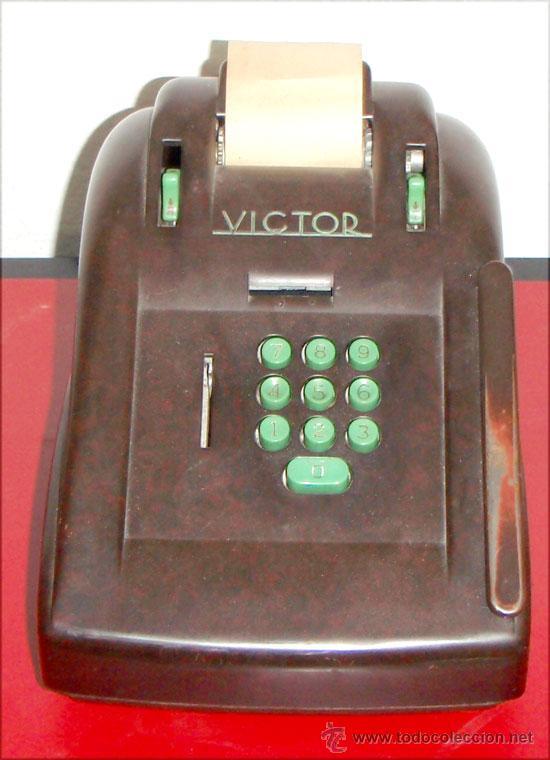 CALCULADORA VICTOR (Antigüedades - Técnicas - Aparatos de Cálculo - Calculadoras Antiguas)