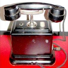 Teléfonos: TELEFONO DE CONSOLA ANTIGUO. Lote 27465858