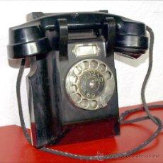 Teléfonos: TELEFONO DE PARED TELEGRAFVERKETS . Lote 27465975