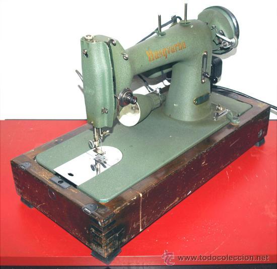 MAQUINA DE COSER HUSQUARNA (Antigüedades - Técnicas - Máquinas de Coser Antiguas - Otras)