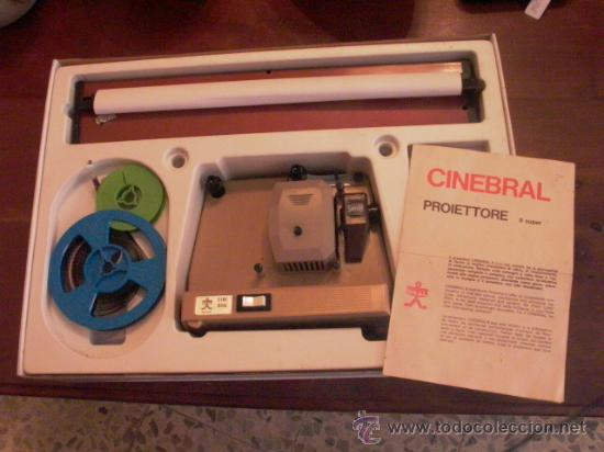 Antigüedades: Antiguo proyector de cine super 8 - Foto 2 - 27519000
